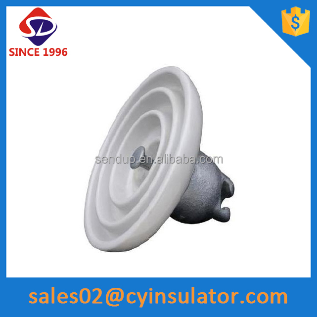 ansi product 52-3 electrical porcelain disc suspension insulators