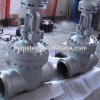 Cast steel rising stem socket welding high pressure high temperature Gate valve DIN /JIS / ANSI API6D CF8 304