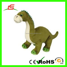 ICTI factory giant dinosaur soft green plush toy