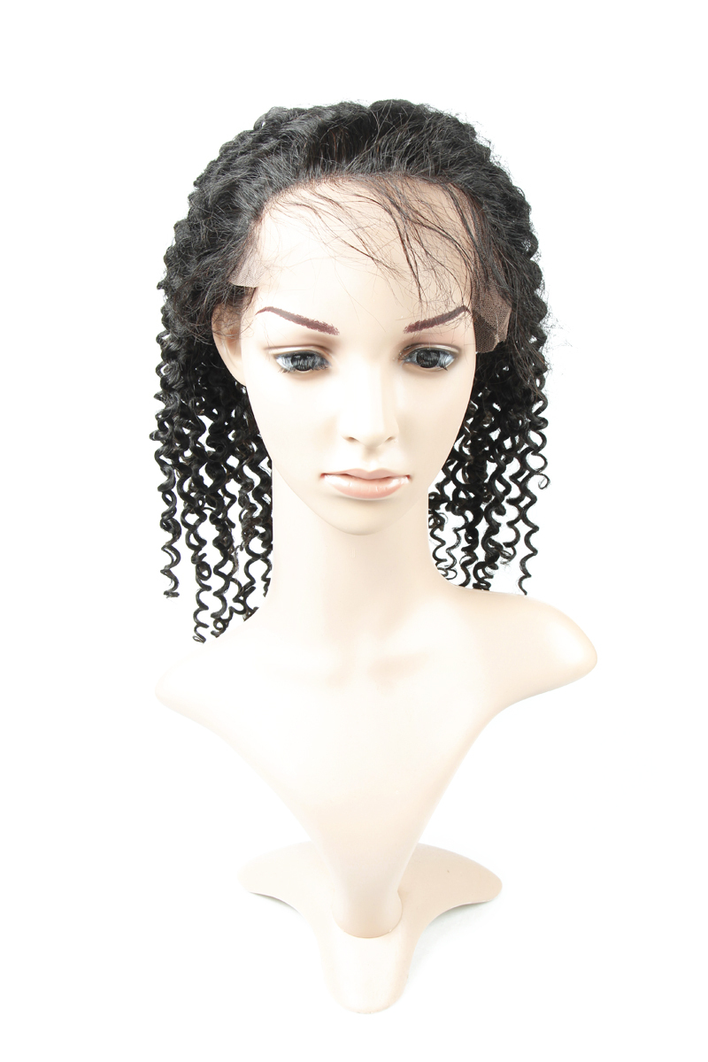 Xbl 2016 100 Brazilian Hair Natural Curly Full Lace Wig