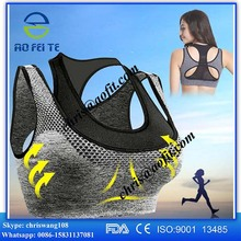 New Custom Hot Sexy Fashion Yoga Ladies Sublimation Printed fitness wear women's sport yoga bra