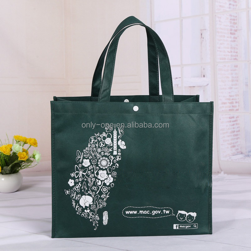 Recycle Printed PP Non Woven Shoppping Gift Bags