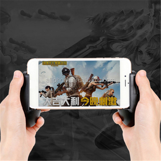 Factory OEM manufacture PUBG Mobile Game Trigger L1R1 Fire Button Handle Grip Shooter Controller