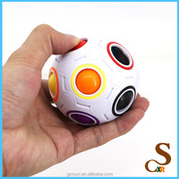 Cute Educational Toy Colorful Rainbow Ball