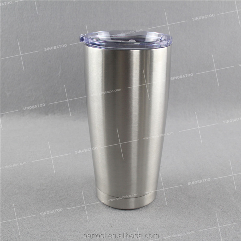 20oz custom printed travel thermos mug with custom logo