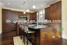 Coffee Glaze Maple Kitchen Cabinets