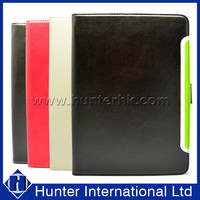 PU Leather Binary Color Tablet Case For iPad Air 2