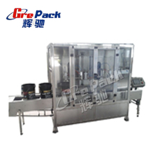 Garlic Oil filling machine with servo filling system