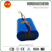 Lowest price high quality li ion battery 18650 7.4v 2000mah