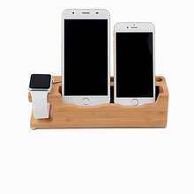 Moveable lazy smart mobile phone tablet holder wooden bed stand for iphone Samsung HTC MP4