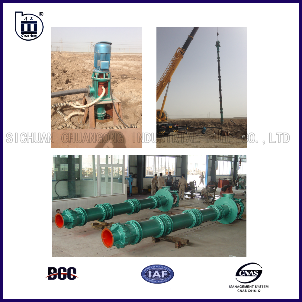 560~2000kW/600r/min 900KGL Vertical Turbine Deep Well Pump