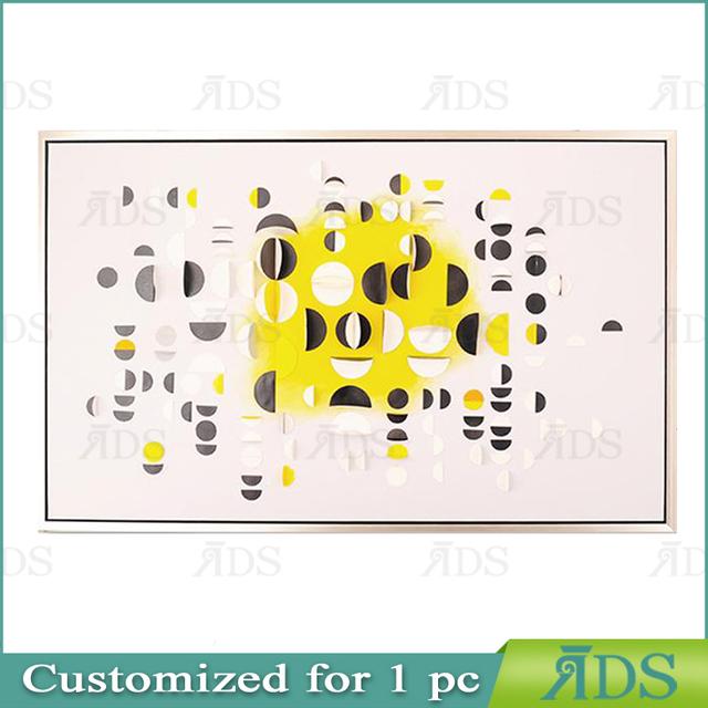 Framed Handmad shadow box art card paper