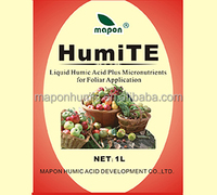 Liquid Humic Acid fertilizer and EDTA Micronutrients for plant growth