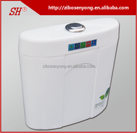 SY-A2 Water Saving Dual Flush PP Toilet Cistern