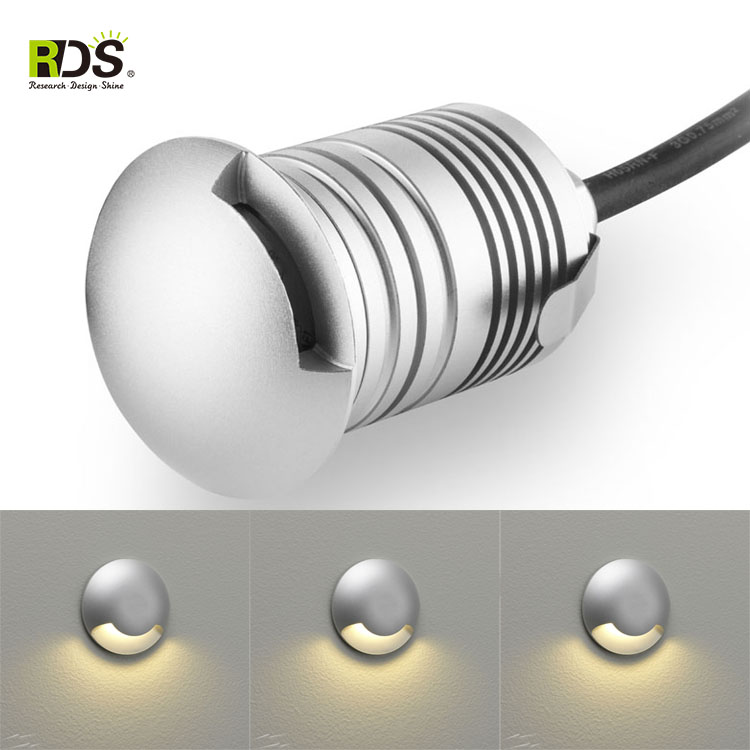 House led lamp low voltage mini IP67 3w solar ground lights garden