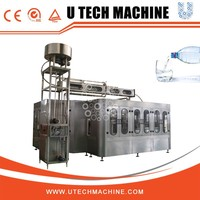 PLC control, poor labor intensity water bottling machine prices