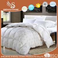 Keep Warm Goose Down Comforters White Down Printed Quilt