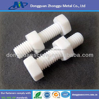 Plastic Bolts and Nuts with Different Size and Material, Nuts and Bolts, Wholesale Bolts and Nuts