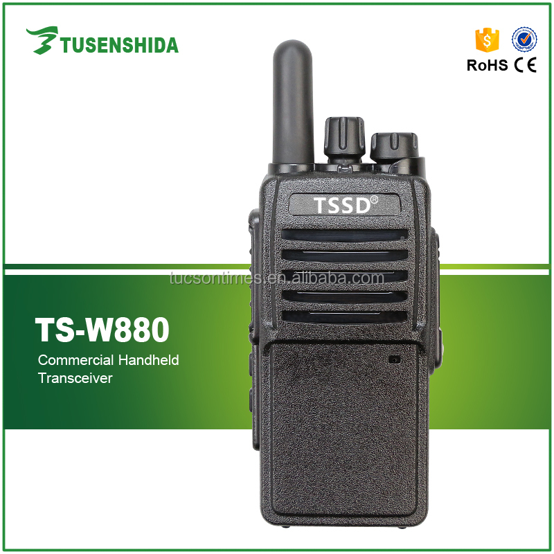 GSM GPS function radio TS-W880 SIM card 3G/Wifi walkie talkie