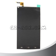 2016 new products Black screen display touch screen digitizer full set for cubot x6 lcd