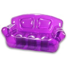 furniture inflatable home sofa with can cooler
