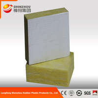 fireproof aluminum foil fiberglass wool wateproof glass wool batts acoustic 15MM insulation distributor glasswool