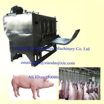 pig hair removal machine