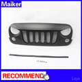 grille auto accessories front grille for jeep wrangler jk grille 2007+