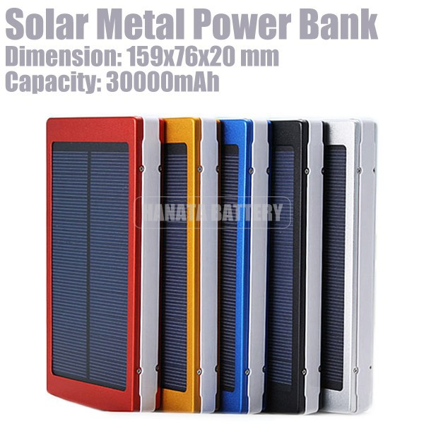 30000mAh The Best Smartphone Solar Battery Charger Power Bank for Iphone and Samsung galaxy Note Made in China