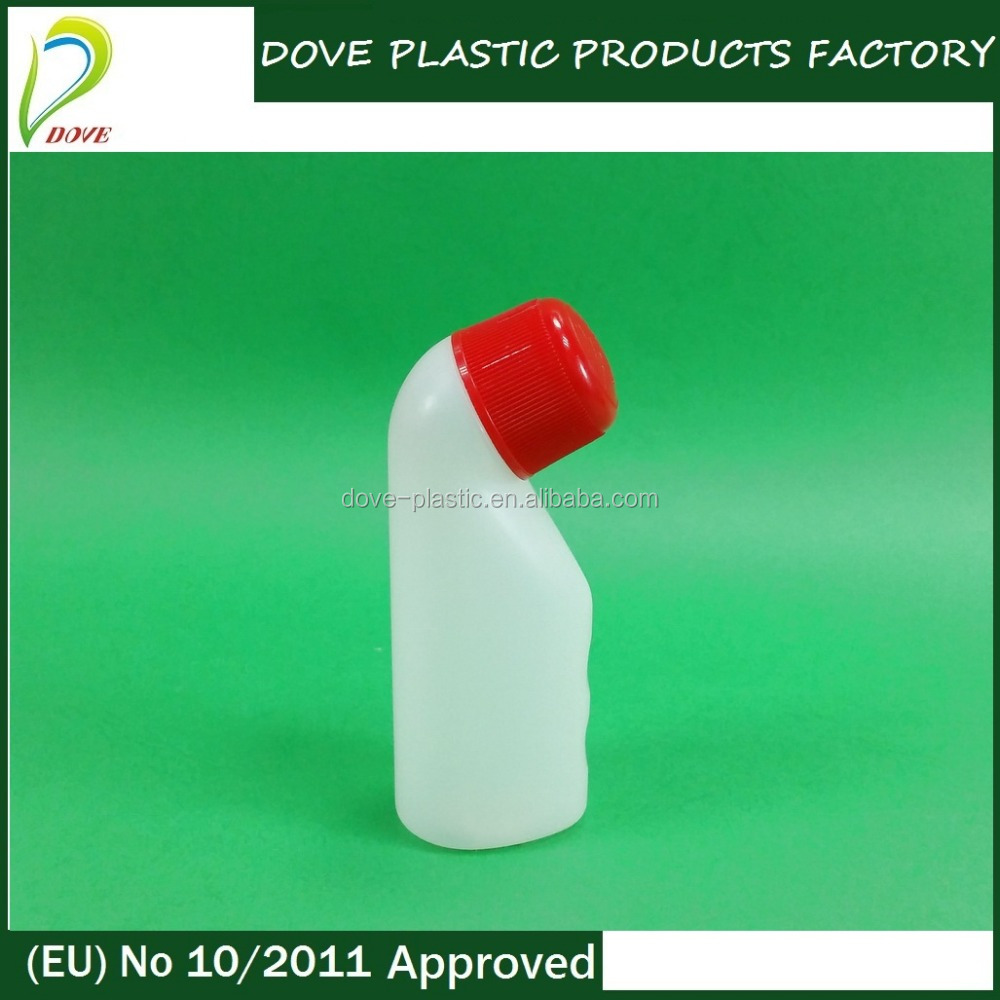 40ml oval plastic bottle with plastic bottle closure for herbal sex medicine oil