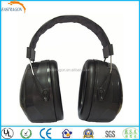 Black Safety Head Ear Muff