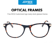 Wenzhou Joysee FDA CE hot fashion new model eyewear frame glasses latest italy design eyeglasses