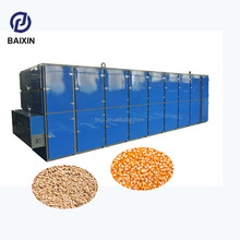 Professional hot air stainless steel conveyor mesh belt small grain dryer