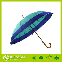 Personalized Windproof Printing Automatic Straight Umbrella