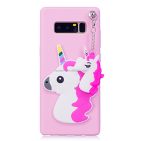 Smart unicorn case soft cover for Samsung Galaxy Note 8, Flamingo back case for Galaxy Note 8