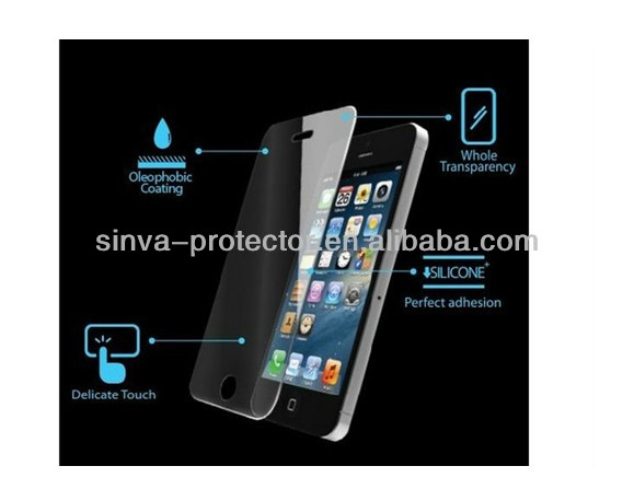 Korea PET Waterproof Anti-Oil Clear Anti Scratch Touch Screen LCD Guard Protector Skin For iPhone 5