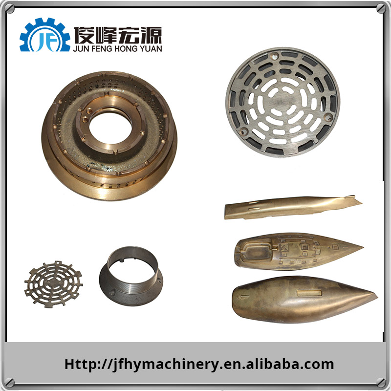 High Precision Brass iron steel Aluminum Die and sand Casting Products