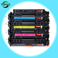 CB530A CB531A CB532A CB533A Toner cartridge compatible for HP Color laserJet CP2020/2024/2025/2026/2027/2024n/2024dn/2025n