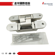 wooden&aluminum doors adjustable invisible concealed hinge hidden type 180 degree hinge for heavy door
