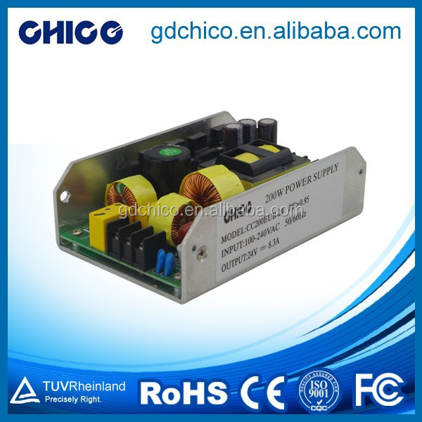 200W 24V power supply CC200EUB 24, 200W 24V led driver CC 200EUB 24,200W 24V switch power supply CC200 EUB 24