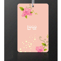 Special round shaped printed hangtags customized design for slap-up garment,ladies' chothing
