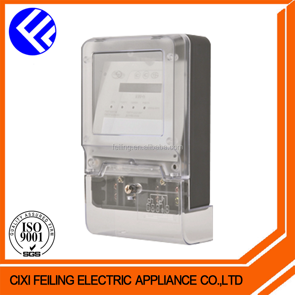 Best-selling in alibaba top quality made in China supplier single phase 1 gang electric meter box