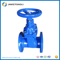 Hot sales standard size Durable rising stem gear operated gate valve