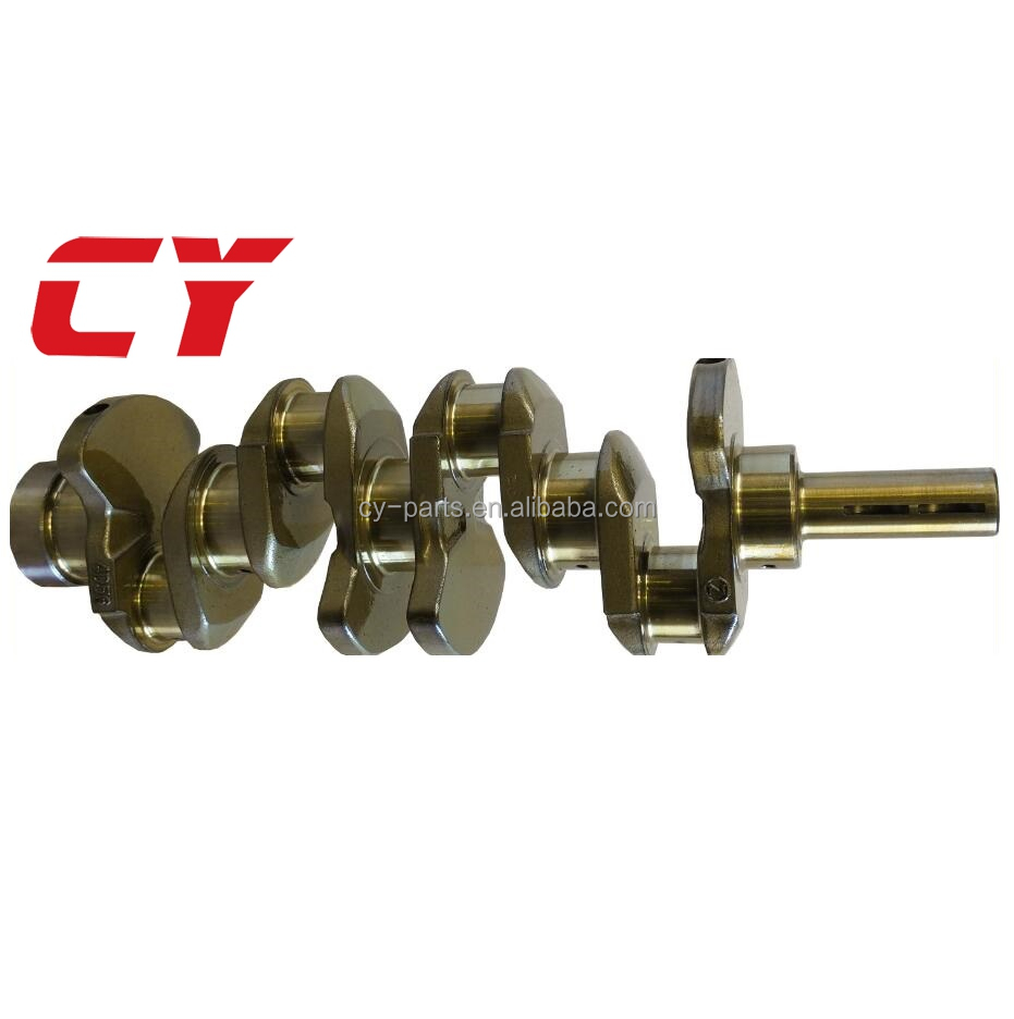 4D56 engine parts Steel Forged Crankshaft
