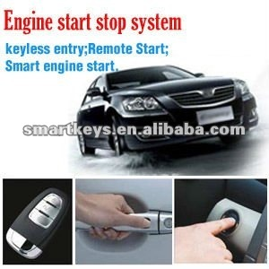 Smart keyless Auto Start, RFID Push Button Start System