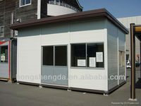 China hot sale prefabricated modular kiosk/hotel/toilet