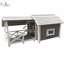 Doghouse Plan Dog Kennel With Leisure Porch For Sun Bathing