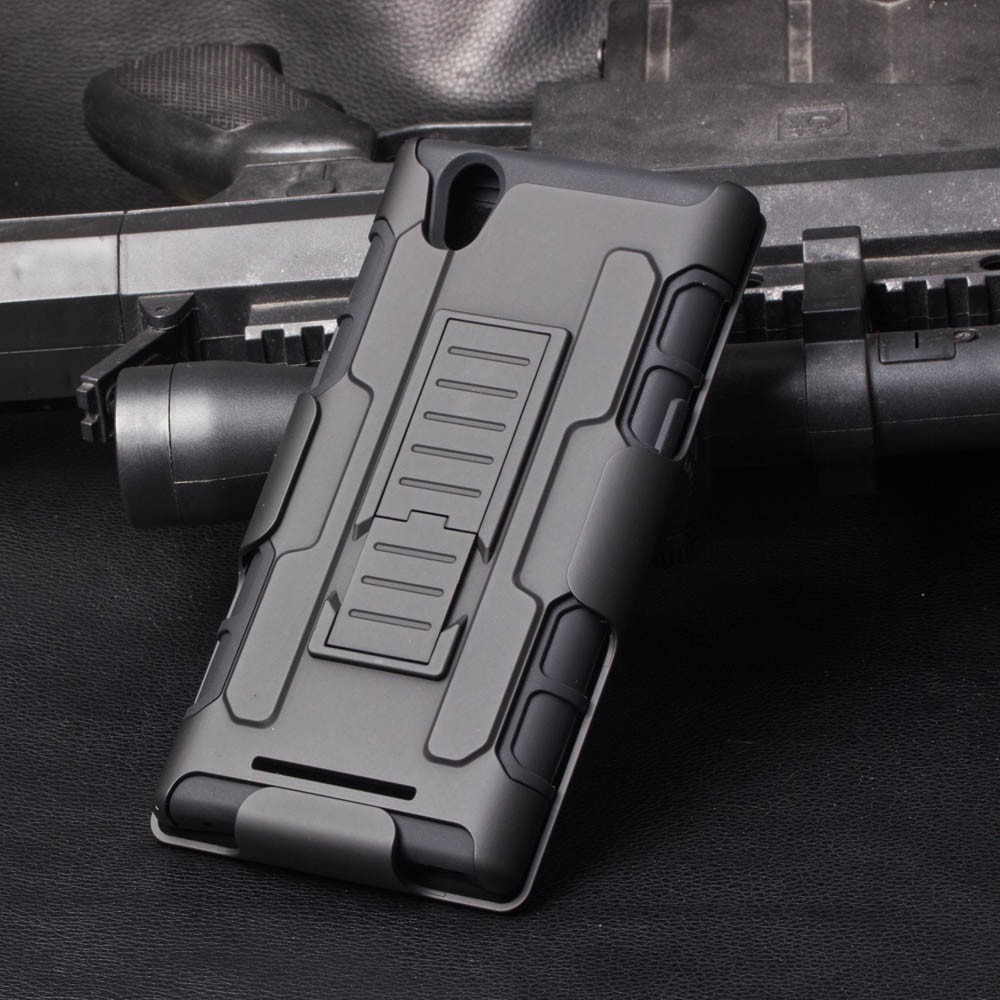 2015 New Design Shockproof kickstand cover wholesale mobile phone case for zte zmax z970 Cell Phone Cover