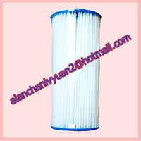 clear water recycle filter/strong paper pleated cartridge
