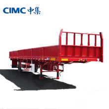 CIMC China Factory Cargo Box Chassis Truck Trailer For Sale